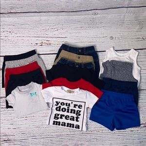 Bundle of Infant Boys 3-6mo Outfits